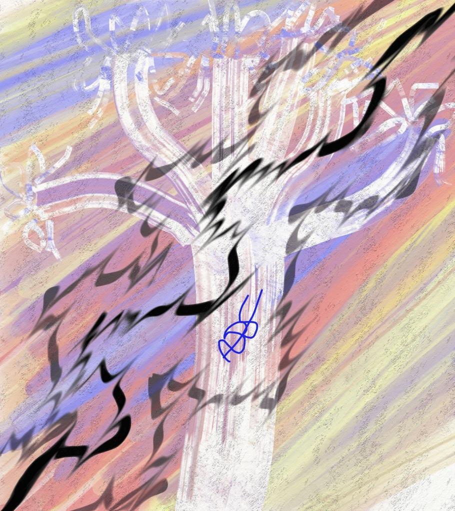 Sound Bloom Digital Art: 16x18: ARS