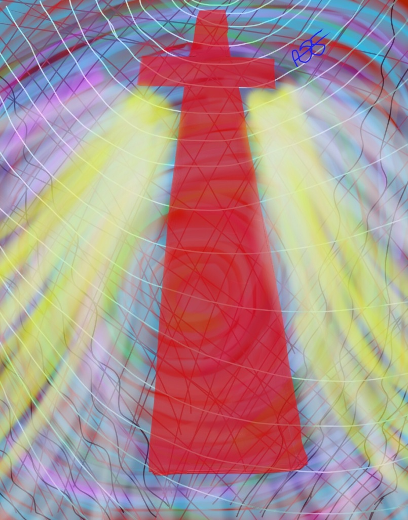 Vortex-Faith Digital Art: 11x14: ARS