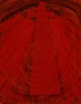 Vortex-Blooming Faith Digital Art: 11x14: ARS