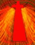Vortex-Beginning Faith Digital Art: 11x14: ARS