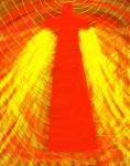 Vortex-Fiery Love Digital Art: 11x14: ARS