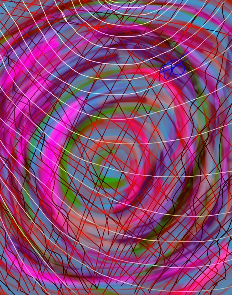 Vortex-Renewed Digital Art: 11x14: ARS