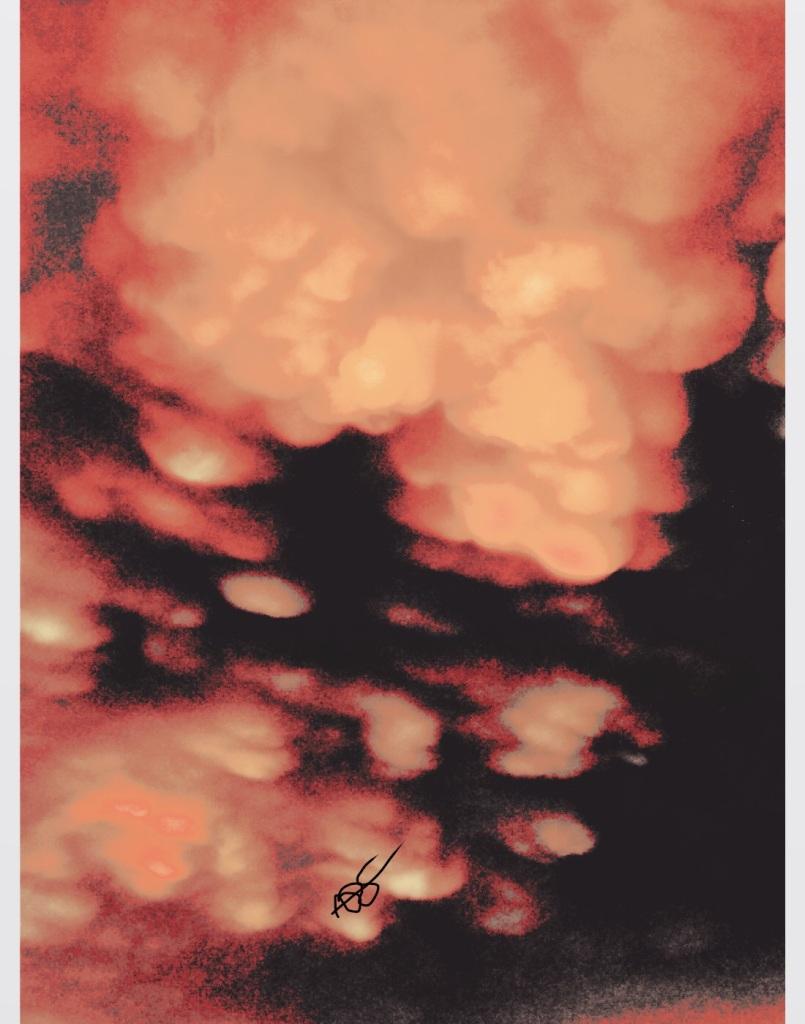 Photo Art - Invisible Fingerprint Photography Art: 11x14: ARS