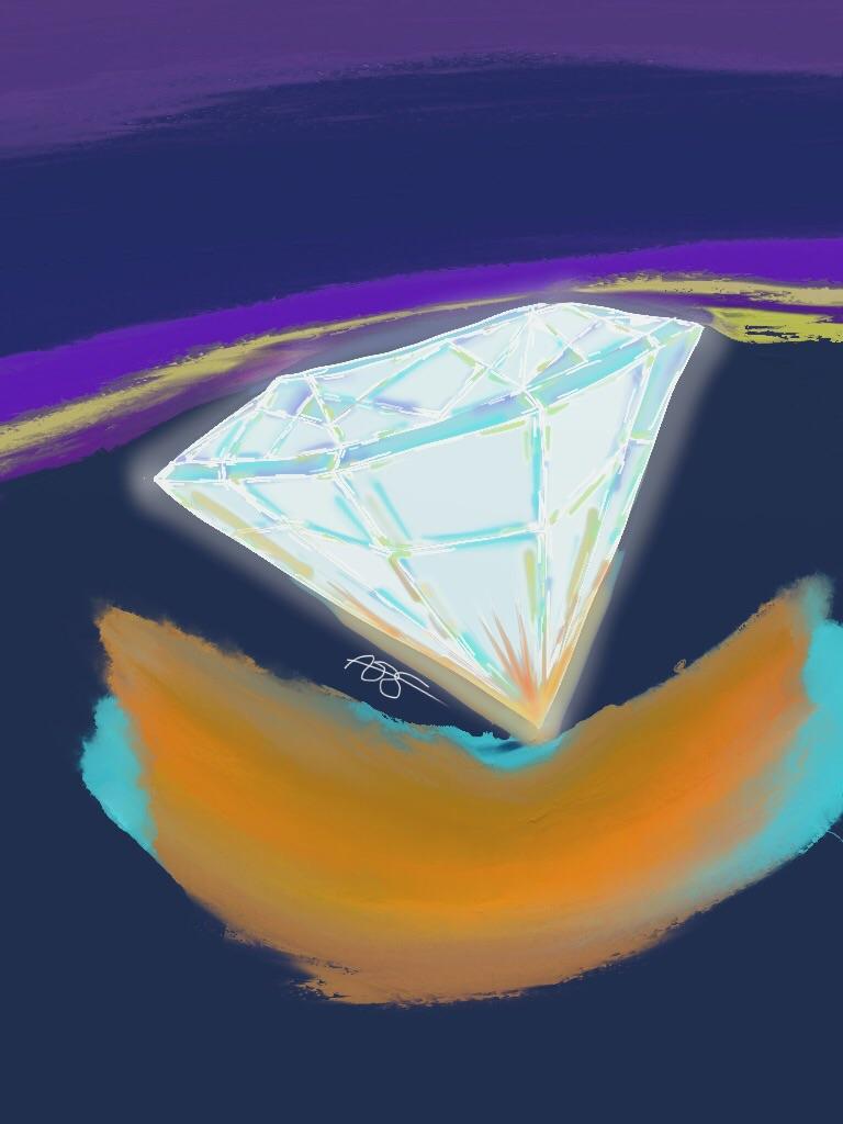Gem 7 Digital Art: 8x10: ARS