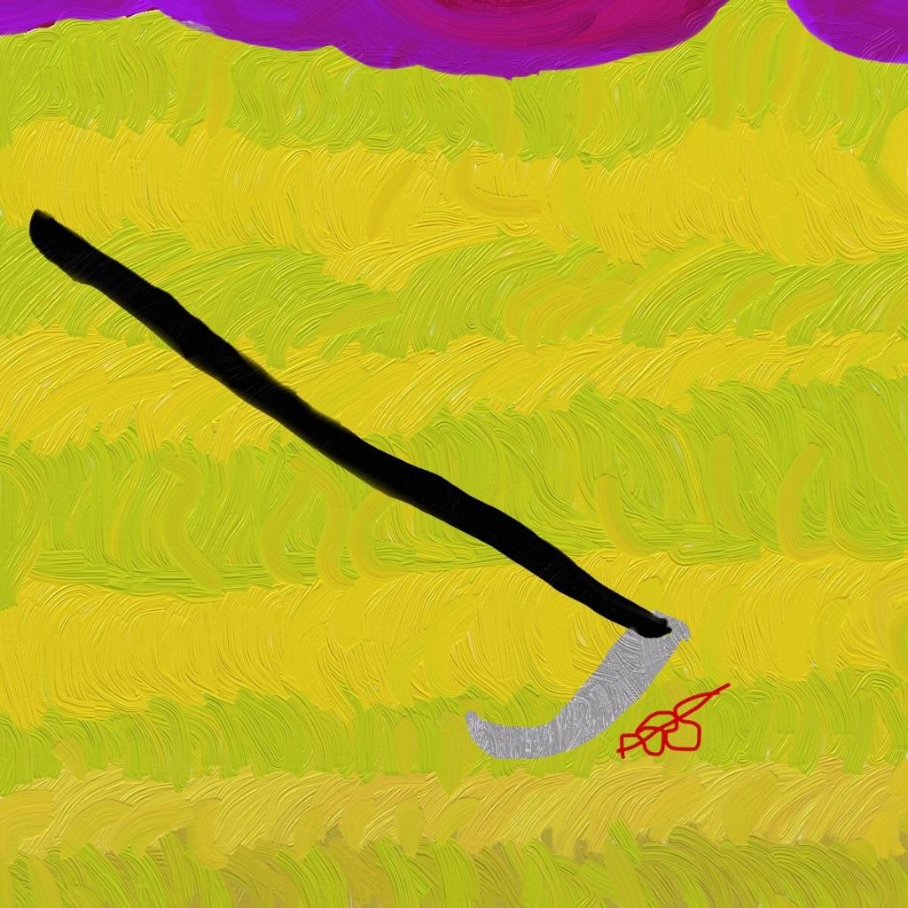 Harvest Digital Art: 12x12: ARS