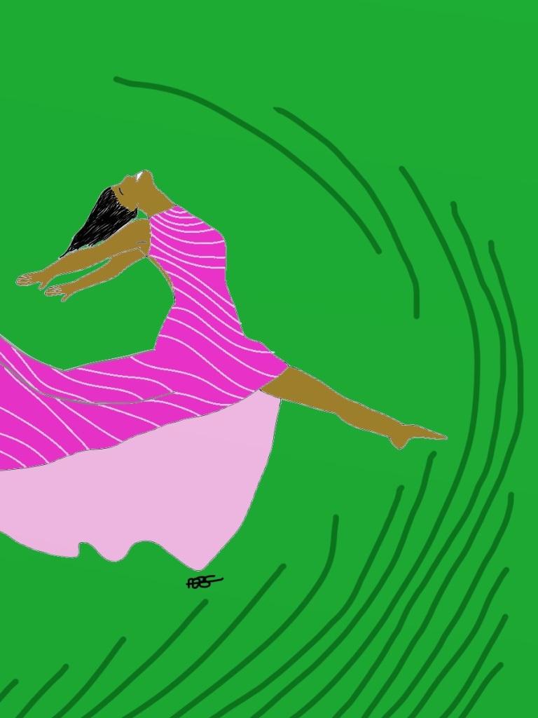 Leap for Joy!-Grassroots 1 Digital Art: 9x12: ARS