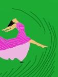 Leap for Joy!-Grassroots 2 Digital Art: 9x12: ARS