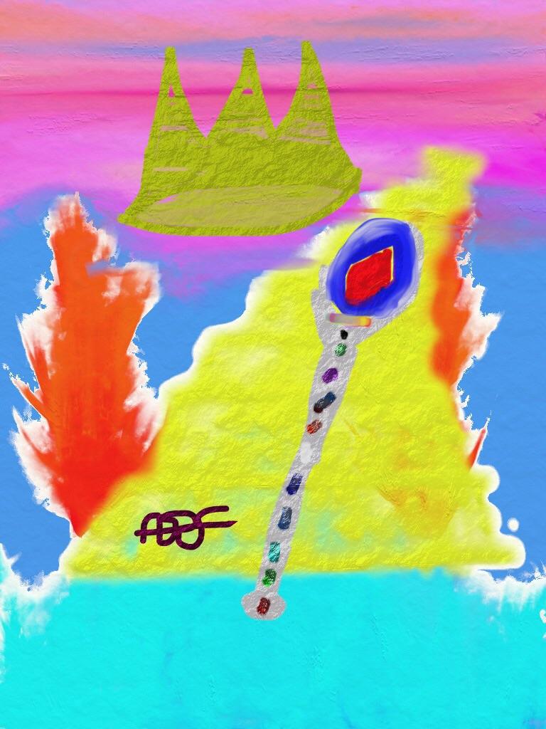 Majesty Digital Art: 8x10: ARS