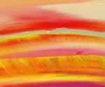 Raqiya 3 Digital Art: 12x10: ARS