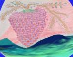 Fruit of the Vine 2 Crayon&Digital: 14 x 11: ARS