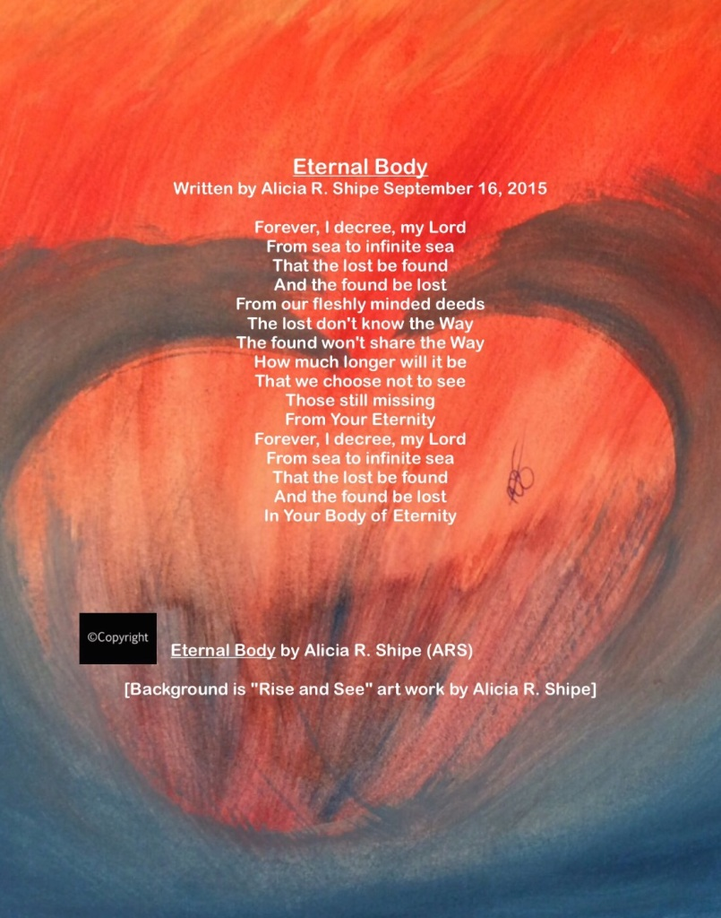"""Eternal Body"": ARS Words Over Art"