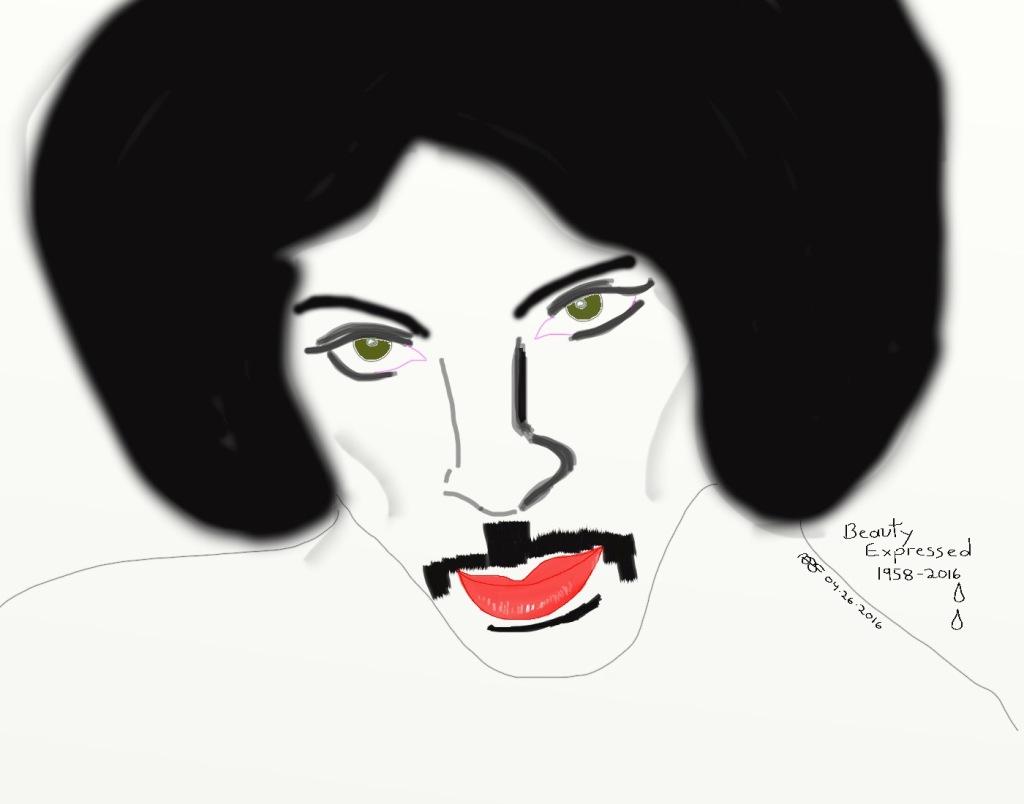 Beauty Expressed B&W Media: Digital Art ARS: 14 x 11