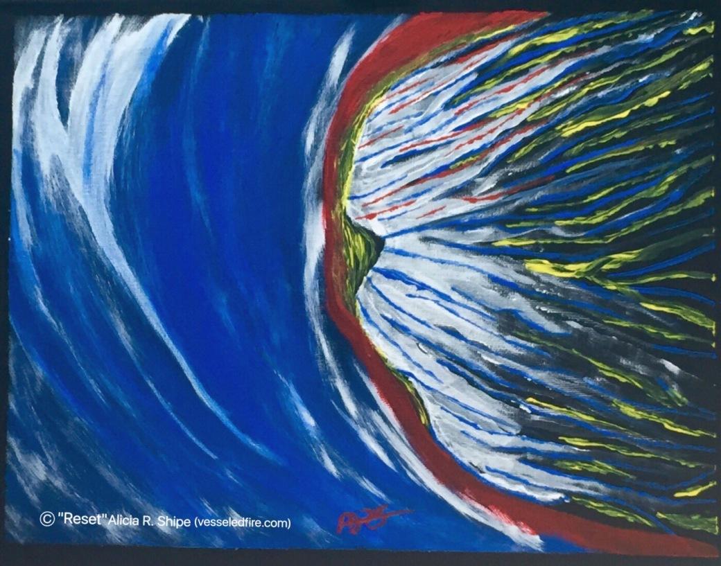 Reset Acrylic: 14x11: ARS