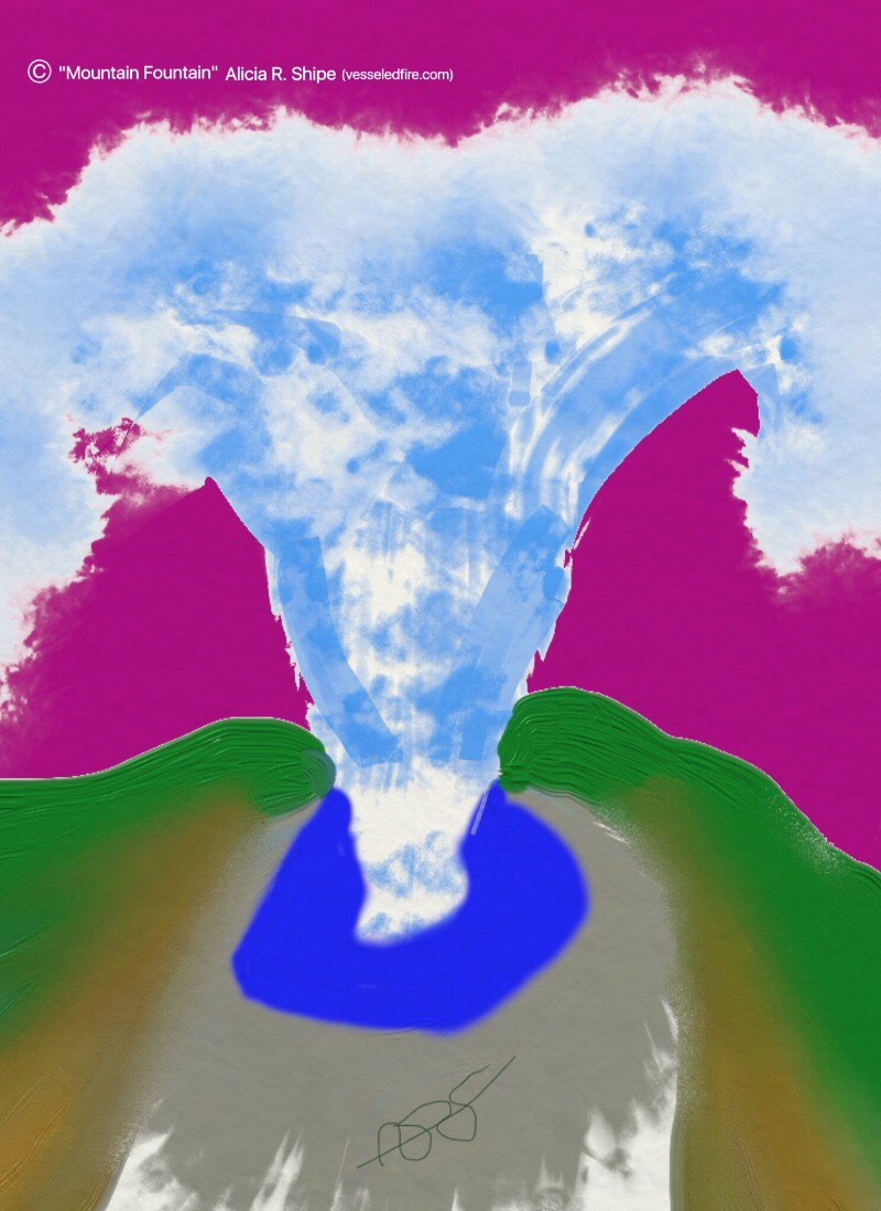 Mountain Fountain Digital: 8x11: ARS