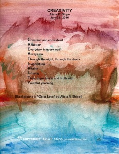 """CREATIVITY"": ARS Words Over Art"