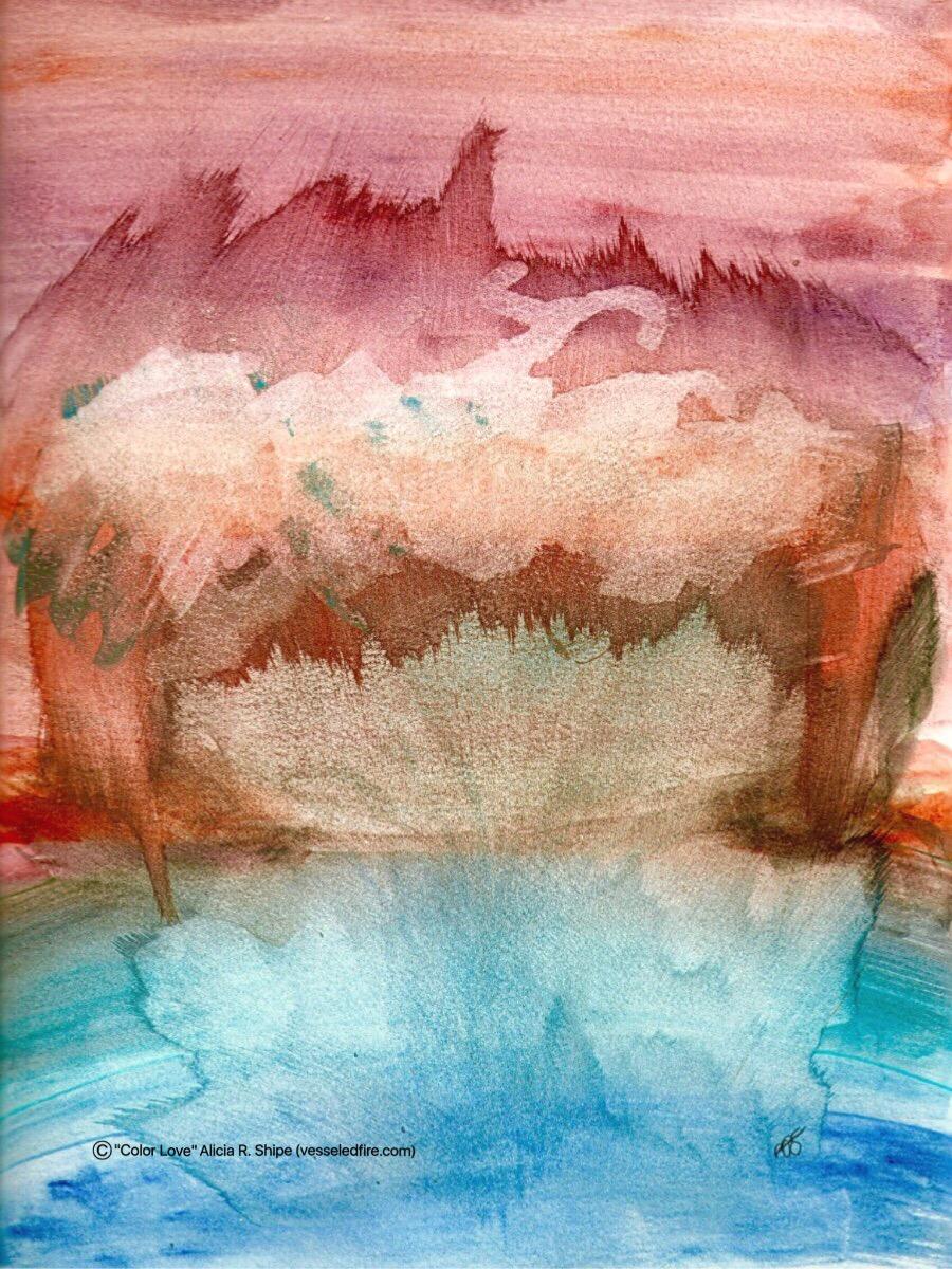 Color Love Watercolor: 9x12: ARS