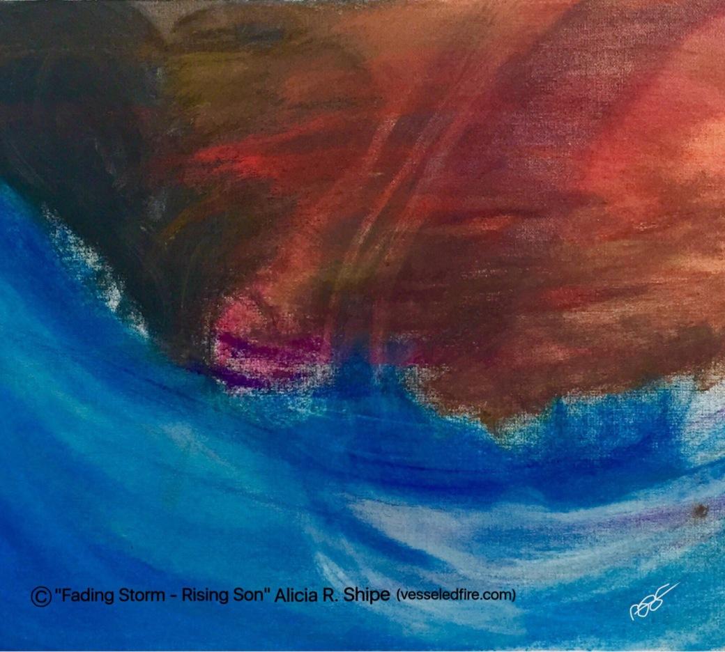 Fading Storm - Rising Son Acrylic: 20x18: ARS