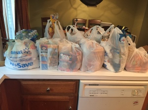 Camp groceries