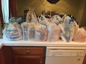 Camp groceries