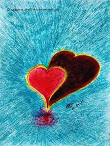 Shadow of Love Colored Pencils Alicia R. Shipe